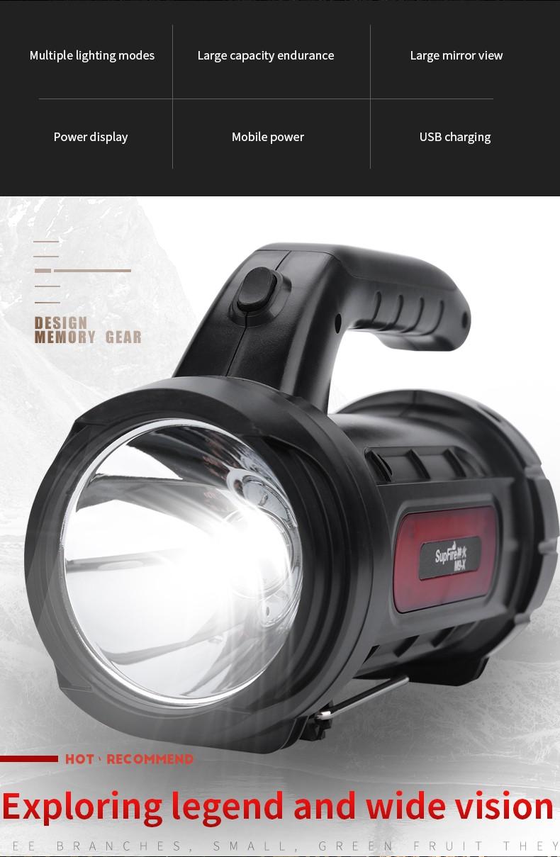 đèn pin xách tay siêu sáng SupFire M9-X