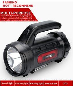 đèn pin sạc xách tay SupFire M9-X