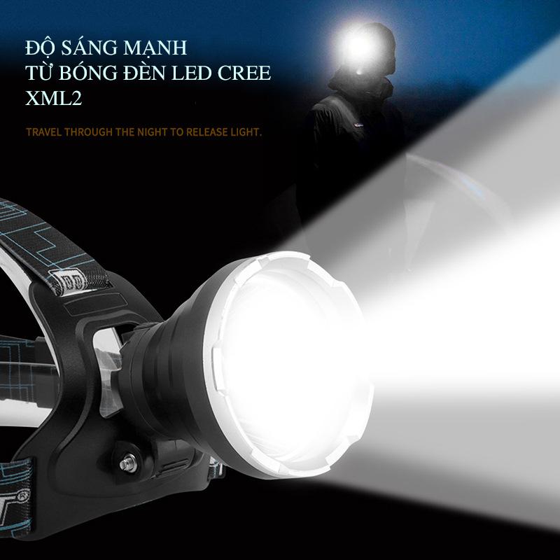 đèn pin đội đầu Boruit B10