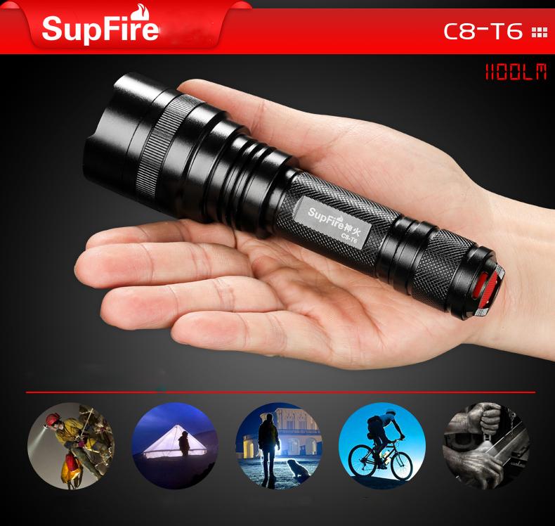 Đè pin SupFire C8-T6