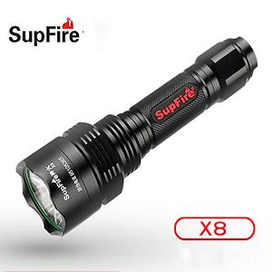 Đèn pin SupFire X8