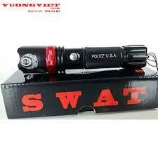 đèn pin siêu sáng police đèn pin siêu sáng tự vệ của Mỹ