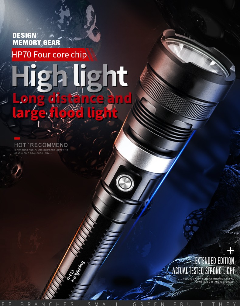 Đèn pin SupFire Y12-U
