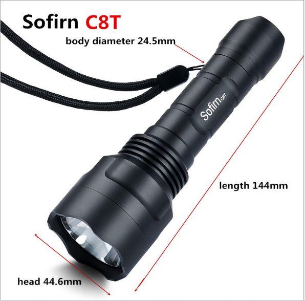 đèn pin sofirn c8t