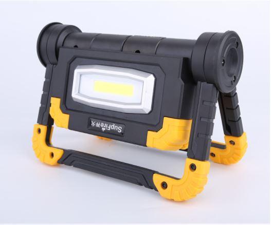 đèn sạc led COB SupFire G7 xoay gập 360*
