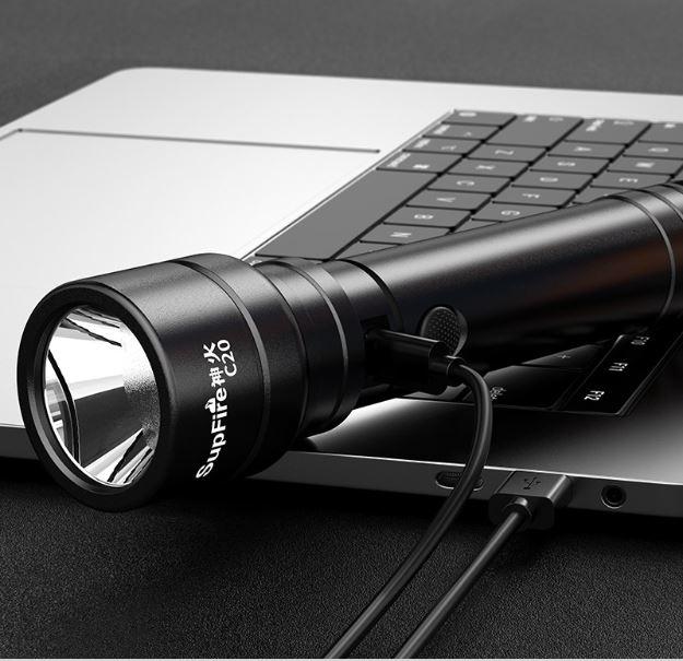 Đèn pin SupFire C20-T