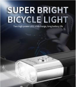 đèn pin gắn xe đạp đa năng SupFire BL06