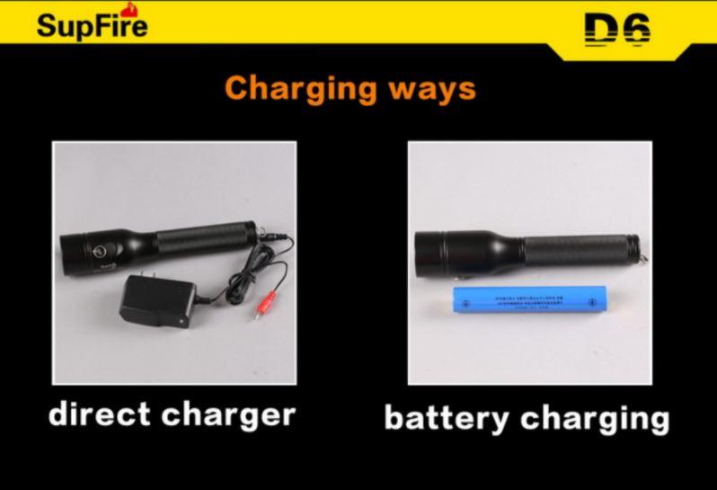 Đèn pin chống cháy nổ chuyên dụng SupFire D6