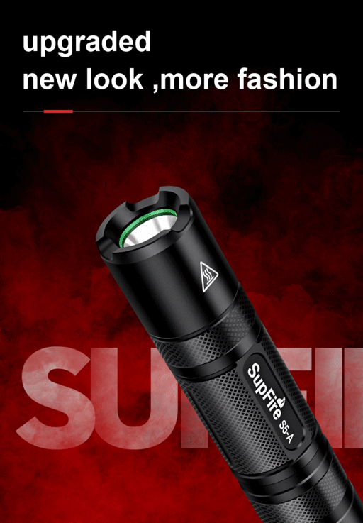 SupFire S5-A Đèn pin siêu sáng mini chất lượng cao
